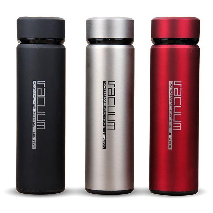 400ML Stainless steel Travel Mug Coffee Tea Vacuum Insulated Thermal Cup Bottle Travel Drink Bottle Garrafa Termica Thermo Mug