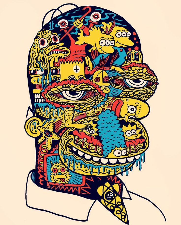 Evil Homer | Artist @killeracid