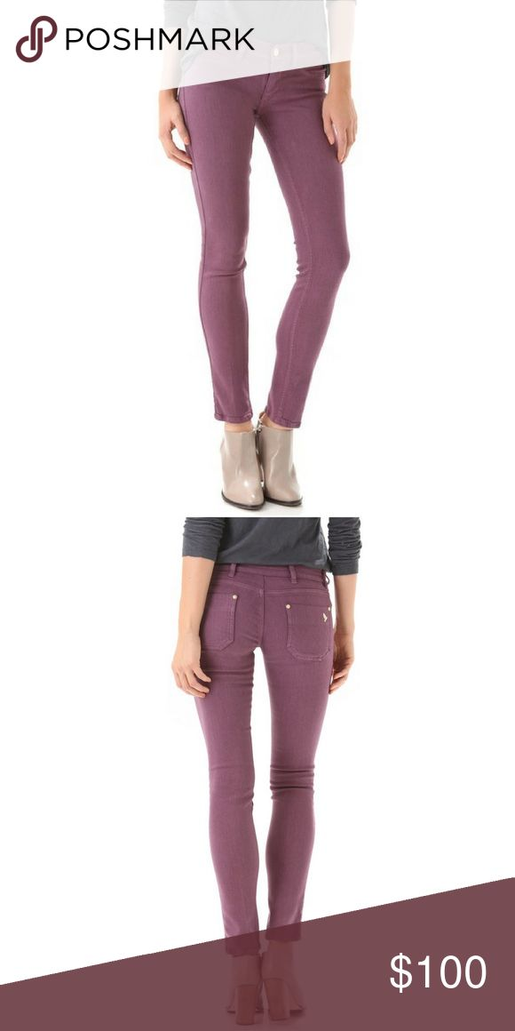 🆕M.i.h Purple Skinny Pant These Vienna skinny jeans have the second-skin fit of a legging. They have faux front pocket and two pockets on the butt. The most gorgeous soft purple color. 37% viscose, 37% Cotton, 24% lycocell, 2% elastane. 30inch inseam. Run small. M.i.h jeans  Jeans
