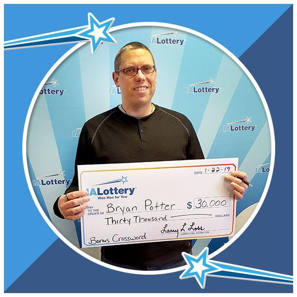 Congratulations to Bryan Potter of #IowaCity  He purchased a Bonus