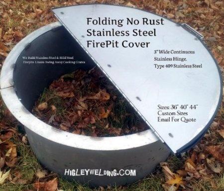 "Amazon.com: 40"" Round Folding No Rust Stainless Steel Flat ..."