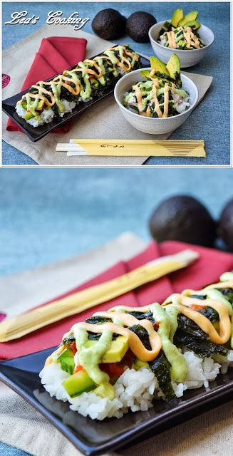 Lazy sushi. Why have I never thought of this before?