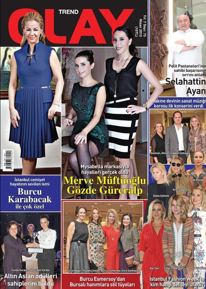 Olay Trend dergisi, Nisan sayısı yayında! Hemen okumak için: http://www.dijimecmua.com/olay-trend/