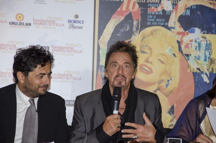 L'assegnazione del Premio Mimmo Rotella a Al Pacino all'Hotel Centurion Palace - Mimmo Rotella Special Award to Al Pacino at the Hotel Centurion Palace #venicefilmfestival2014 #hotelcenturionpalace #venezia #glam #party