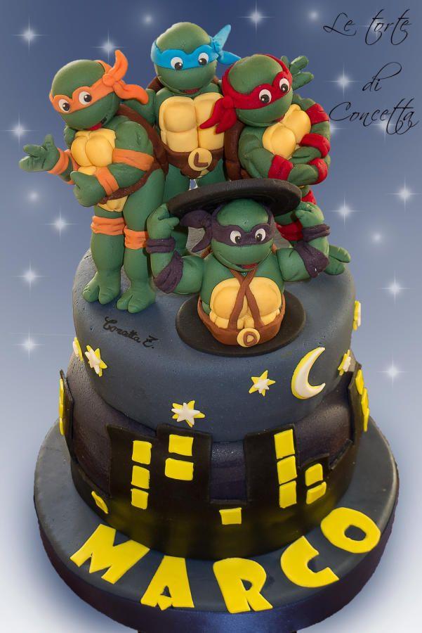 Teenage Mutant Ninja Turtles Cakes Amp Cake Decorating