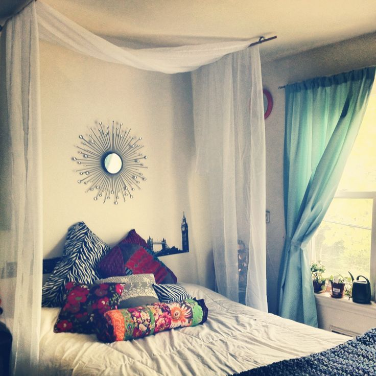 Curtains For Canopy Beds best 25+ canopy over bed ideas on pinterest | bed curtains