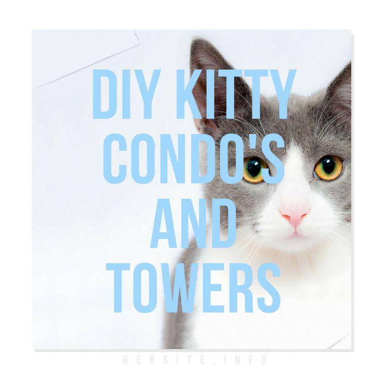 Mueble Condominio Para Gato en Pinterest  Gatos, Árbol para gato y