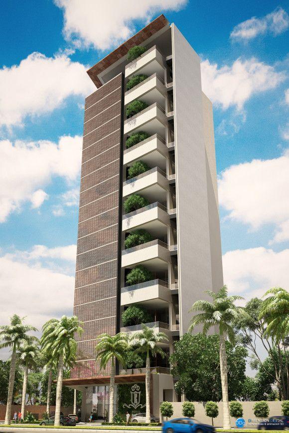 M s de 25 ideas incre bles sobre edificios modernos en for Fachadas de departamentos modernos