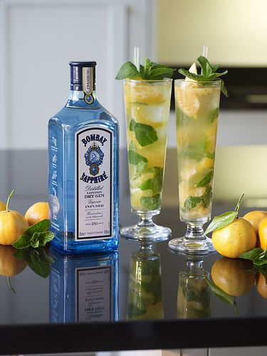 Bombay Sapphire cocktails for spring from The Cocktail Lovers