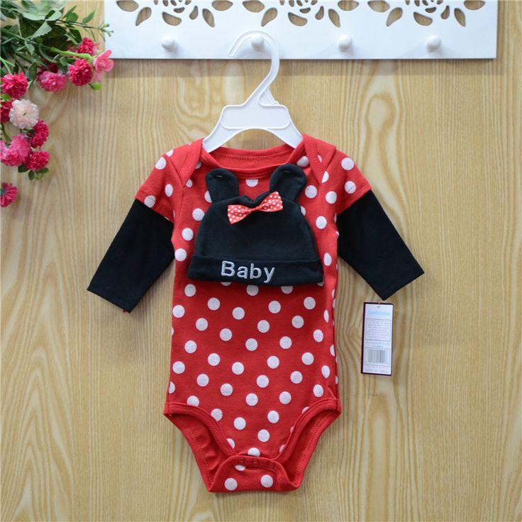 Diseño coreano 100% algodon estampado de ropa de bebé recién nacido set regalo
