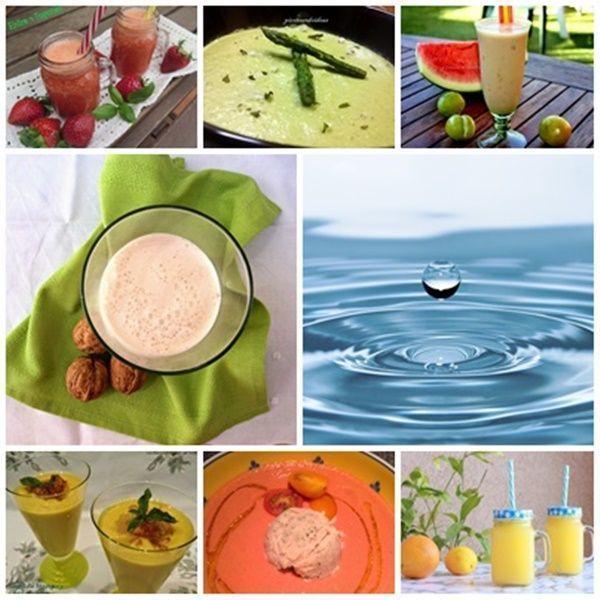 bebidas y cremas día hidratación las recetas fáciles de maría
