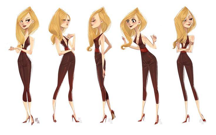 Female Character Design Tutorial : Best character design female images on pinterest