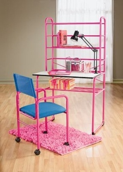 Fuchsia Student Desk Chair Lamp In Spring Big Book Pt 2