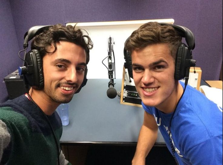 Marco Alessi and Ollie Nicholls  interviewed on America's National Public Radio after OOTB's rendition of Shakira's 'Hips Don't Lie' went viral. #ootboxford
