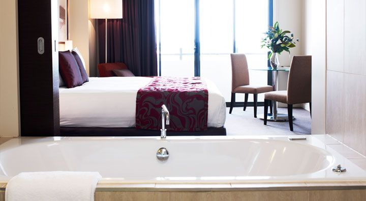 An Executive Spa Room at Rydges Campbelltown #Hotel