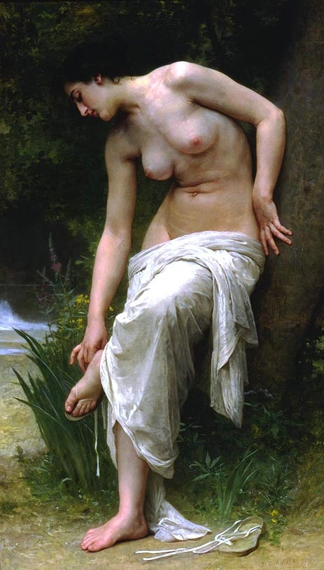 After the Bath - William Adolphe Bouguereau