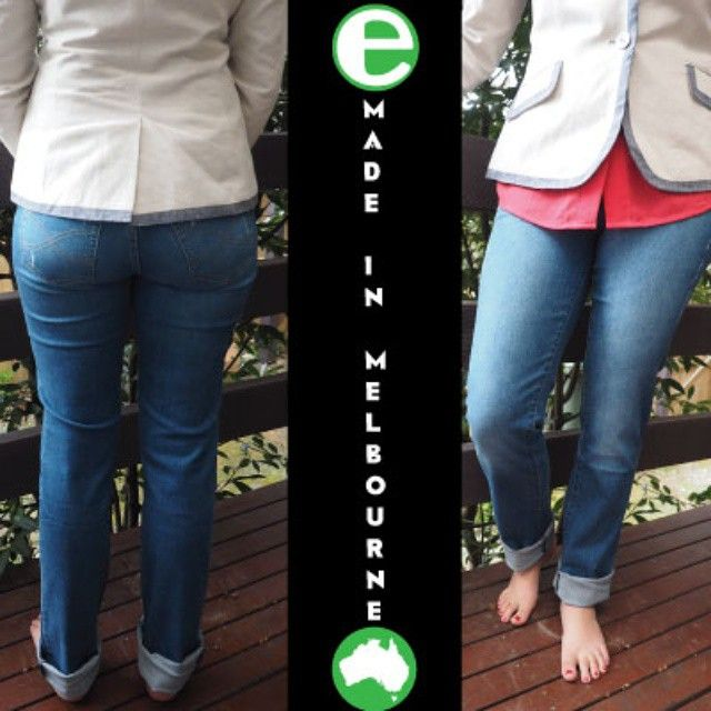 We love these Certified Australian Made Jeans from Infinity! Get them at playitgreen.com.au!
