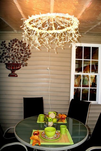 Hula Hoop light fixture