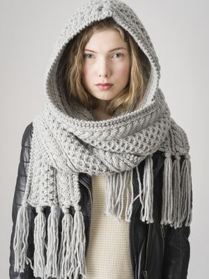 Sjal med huva Novita Hile | Novita knits
