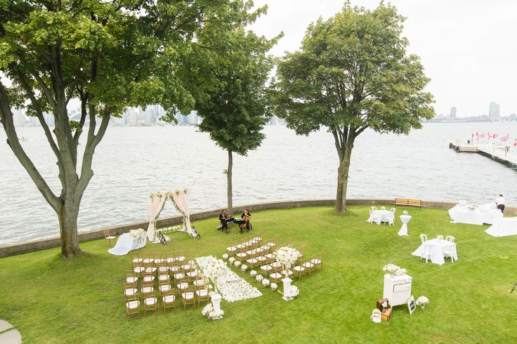 Top view of Ceremony Space - Centre Island Toronto http://www.fusion-events.ca/