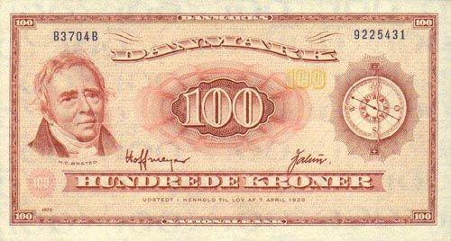 Denmark's currency is the Danish krone.