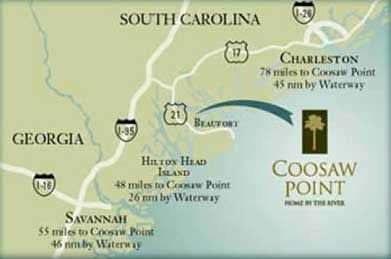 Coosaw Point | Beaufort, SC