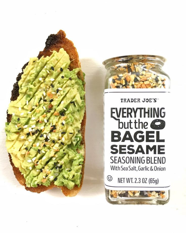 Everything Bagel Seasoning #traderjoefaves