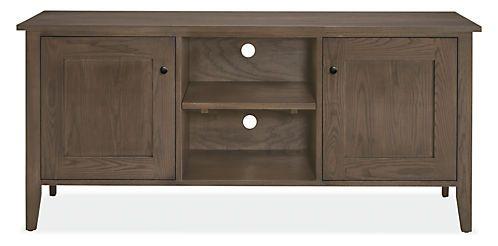 Adams Media Cabinet - Modern Media Storage - Modern Living Room Furniture - Room & Board