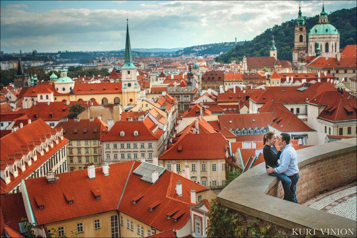above Prague