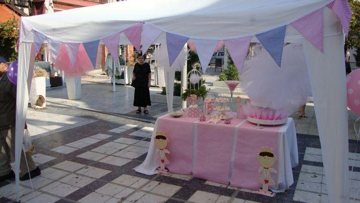 ΣΤΟΛΙΣΜΟΣ ΓΑΜΟΥ - ΒΑΠΤΙΣΗΣ :: Στολισμός Βάπτισης Θεσσαλονίκη και γύρω Νομούς :: ΣΤΟΛΙΣΜΟΣ ΒΑΠΤΙΣΗΣ ΕΚΚΛΗΣΙΑΣ ΓΙΑ ΚΟΡΙΤΣΙ - ΠΡΙΓΚΙΠΙΣΣΑ ΚΩΔ.: SV-856