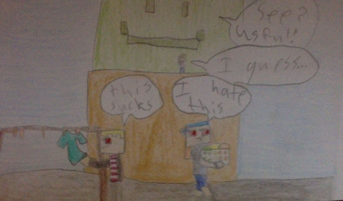 well, i guess you cant deny it.. #minecraftstorymodecomic