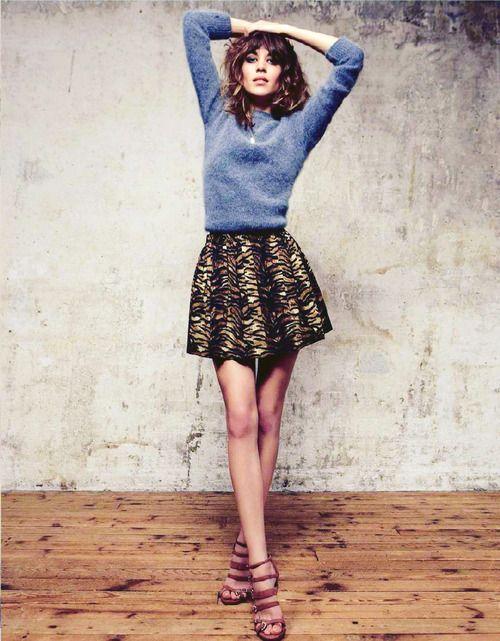 Alexa for Elle France (September 2012)