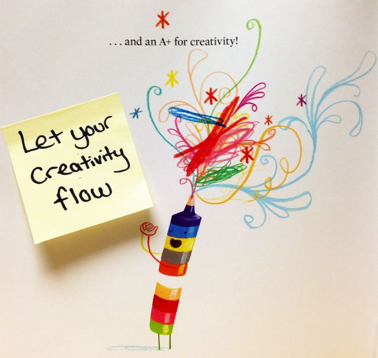This week's #TeachableMoment is to let your creativity flow. Through their adorable letters, the Crayons want Duncan to realize the one thing that matters most: Don't be afraid to use your imagination! –The Day the Crayons Quit by Drew Daywalt & Oliver Jeffers