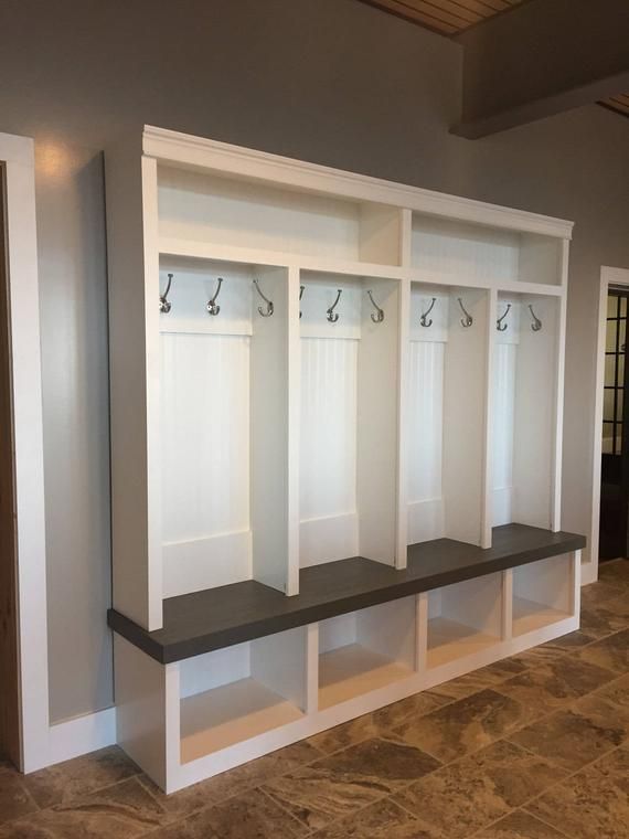 Mudroom Locker Entryway Locker 4 Cubby Extra Large Etsy Mudroom Lockers Entry Way Lockers Home Lockers