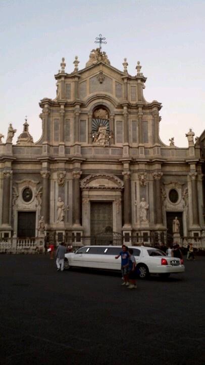 A little car in Duomo square