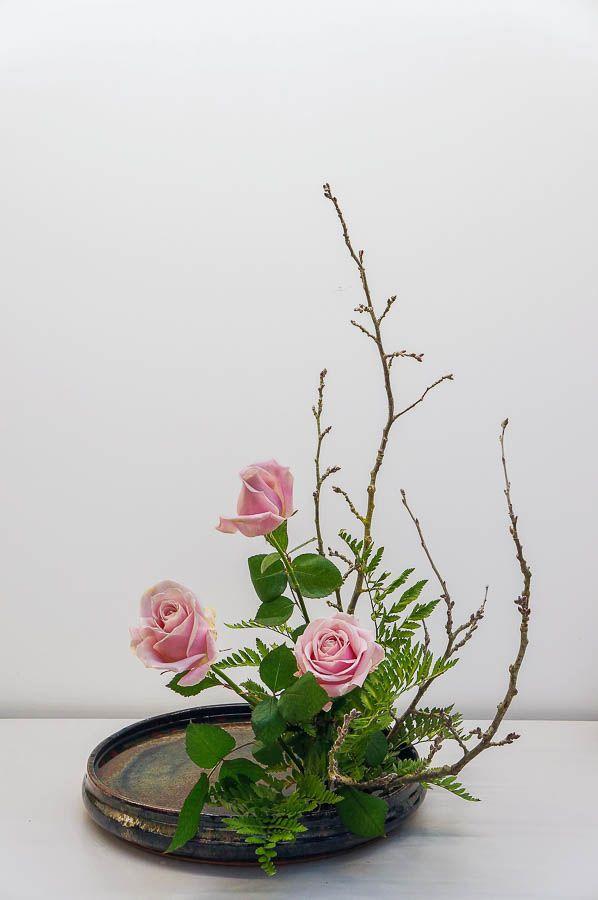 Ecole d'ikebana Ohara La Rochelle / Sud-Ouest - Moribana - Cours et stages d'art floral japonais (ikebana) de l'école Ohara de Tokyo❤
