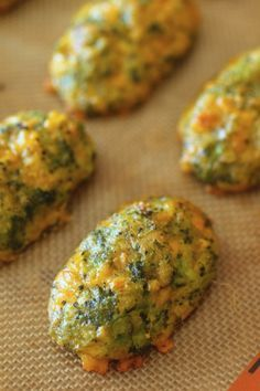 Cheesy Broccoli Tater Tots In 2019 Baby Finger Foods Baby Food Recipes Baby Snacks