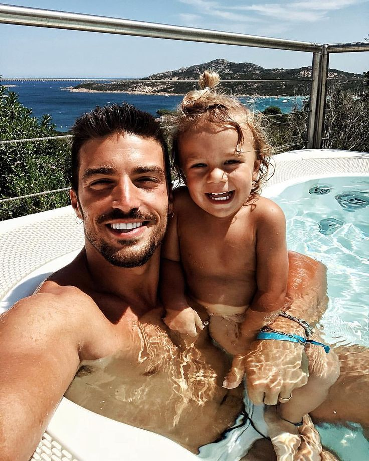 Hot Tub Fun Family Goals Cute Family Dad Pictures