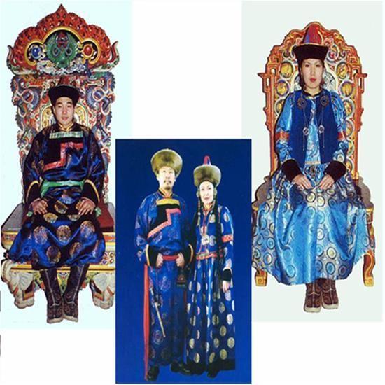 Цветовая символика бурятских национальных костюмов