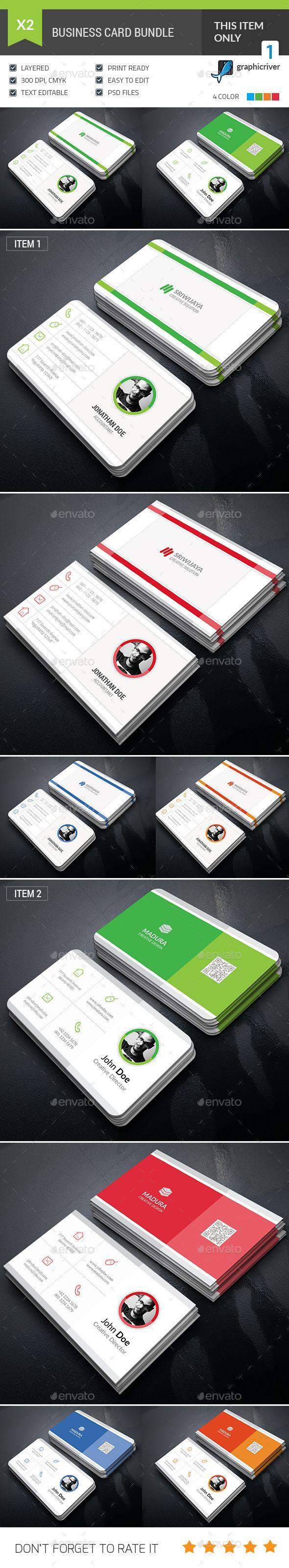 Business Card Bundle Templates PSD. Download here: http://graphicriver.net/item/business-card-bundle/16665864?ref=ksioks