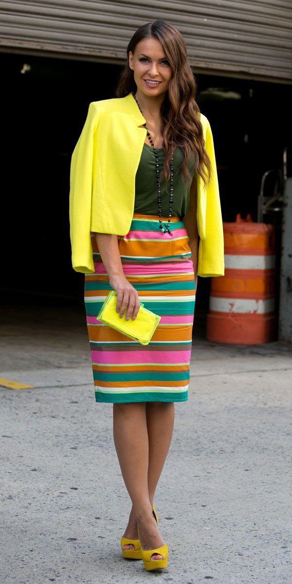 Arco-íris: looks multicoloridos estão na moda e separamos um painel de opções para te inspirar | Chic - Gloria Kalil: Moda, Beleza, Cultura e Comportamento