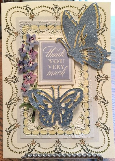 Anna Griffin Pretty Paintings Thank You Card by Kaye K. Lystad KIrk