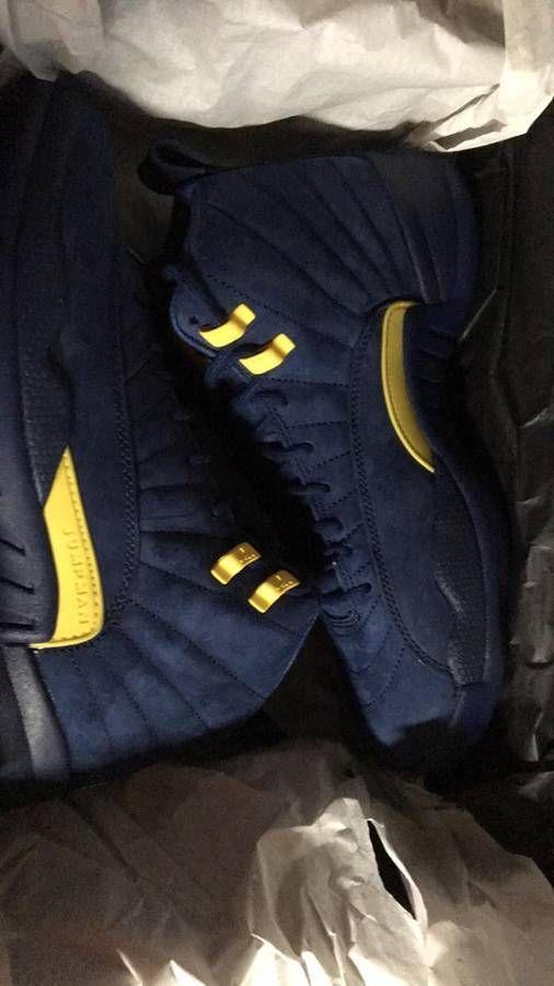 meet d5dfc f7f8a Air Jordan 12 Retro Michigan NRG BQ3180-407 Size 8.5  fashion  clothing   shoes  accessories  mensshoes  athleticshoes (ebay link)