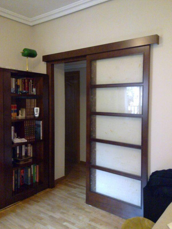 17 mejores ideas sobre puertas para terrazas deslizantes for Puertas interiores de madera con vidrio