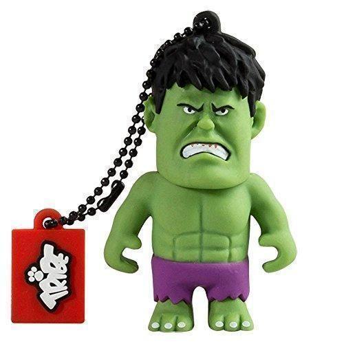 Oferta: 14.81€ Dto: -5%. Comprar Ofertas de Tribe Disney Marvel Avengers Hulk - Memoria USB 2.0 de 16 GB Pendrive Flash Drive de goma con llavero, color verde barato. ¡Mira las ofertas!