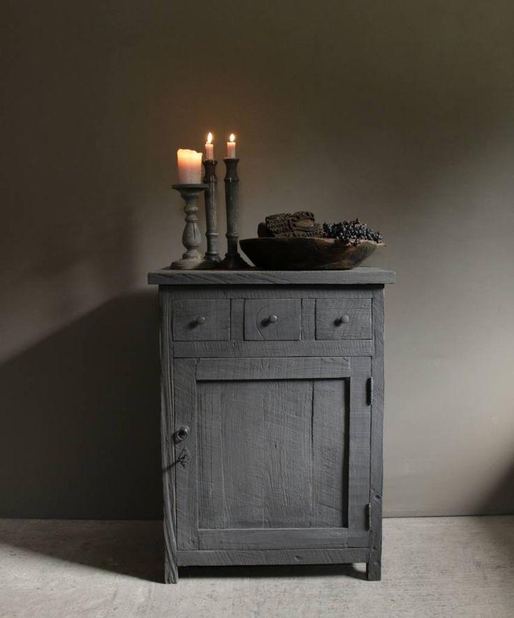 Rustiek kastje gemaakt van oud hout - HerbersLifestyle