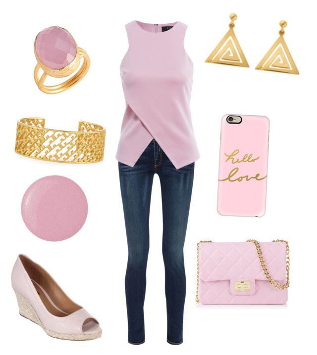 """Movie Date Outfit 55 - Paige"" by office-girl ❤ liked on Polyvore featuring rag & bone, AX Paris, Nina Armando, Design Inverso, Tory Burch, ChloBo, toosis, Deborah Lippmann and Casetify"