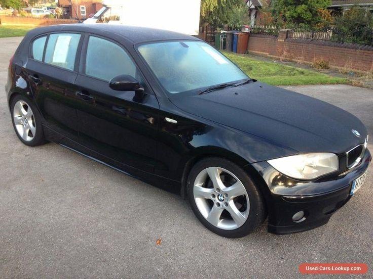 BMW 1 Series 2.0 118d 5dr - BLACK.2006 #bmw #1series #forsale #unitedkingdom