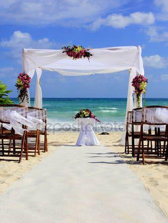 Letöltés - Esküvő, trópusi paradicsomban — Stock Kép #31859125