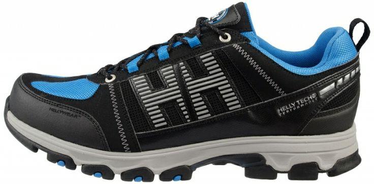 Let og lækker trekking-sko: Helly Hansen Trackfinder 2 Low fritidssko / arbejdssko non-safety, sort/blå (78204-995) - Arbejdsfodtøj - BILLIG-ARBEJDSTØJ.DK